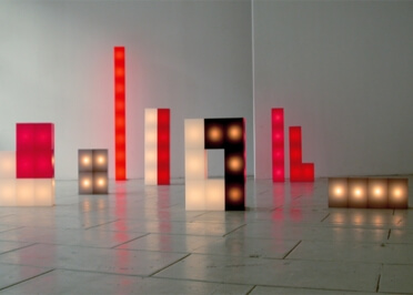 CUBE LUMINEUX FLOOR LIGHT