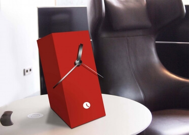 HORLOGE DE BUREAU ORIGINALE - COLORIS VARIES - CIRCUS CROP PAR TOTHORA