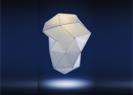 SUSPENSION DIAMANT - FOLD