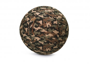 POUF BALLON VERSION CAMOUFLAGLE SITTING BALL CAMO PAR JUMBO BAG