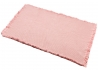 TAPIS EN COTON LAVABLE EN MACHINE 85x140 BLEU LIN ROUGE MANGUE OU ROSE - ALBERTINE PAR NATTIOT