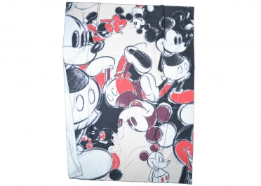 PLAID POLAIRE MICKEY SOFT CAMOUFLAGE PAR ZOEPPRITZ