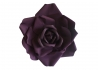 ROSE DECORATIVE NOIRE BLEU CANARD OU AUBERGINE - ROMANTIC - ANGEL DES MONTAGNES FRANCE