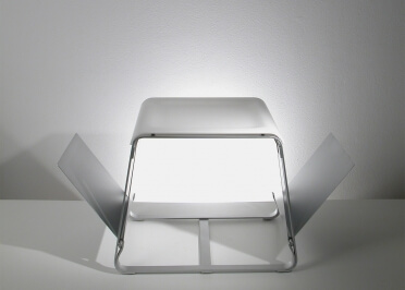 TABLE BASSE / PORTE REVUES FLAP