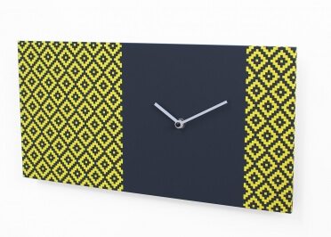HORLOGE GRAPHIQUE PATTERN & PARTNER