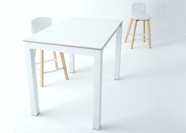 TABLE HAUTE - TABLE BAR EN CERAMIQUE - COULEURS ET TAILLES VARIEES - FIXE OU EXTENSIBLE - TOKIO SNACK PAR CANCIO