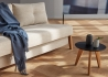 TABLE BASSE GIGOGNE DESIGN SCANDINAVE Ø35 Ø45 ET Ø70 EN CHENE OU CHENE-NOIR NORDIC PAR INNOVATION LIVING Innovation Living