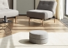 POUF ROND DE QUALITE Ø50 OU Ø62 GRAND CHOIX DE COLORIS DECONSTRUCTED PAR INNOVATION LIVING
