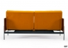 CANAPE CONVERTIBLE AVEC ACCOUDOIRS EN NOYER SPLITBACK LAUGE PAR INNOVATION LIVING