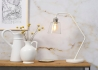 LAMPE DE TABLE EN VERRE MARBRE ET METAL NOIR OU BLANC PARIS - ITS ABOUT ROMI It's About Romi