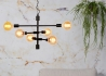 SUSPENSION ORIGINALE ET TENDANCE DESIGN INDUSTRIEL TUYAU METAL NOIR OU DORE NASHVILLE - ITS ABOUT ROMI PAYS-BAS