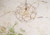 SUSPENSION ORIGINALE EN FIL DE METAL CUIVRE FORME MOSAIQUE 2 TAILLES MARRAKESH - ITS ABOUT ROMI It's About Romi
