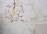 SUSPENSION ORIGINALE EN FIL DE METAL CUIVRE FORME MOSAIQUE 2 TAILLES MARRAKESH - ITS ABOUT ROMI  PAYS-BAS