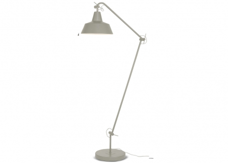 LAMPADAIRE ARTICULE DESIGN INDUSTRIEL GRIS FUME OU BLANC CHICAGO - ITS ABOUT ROMI