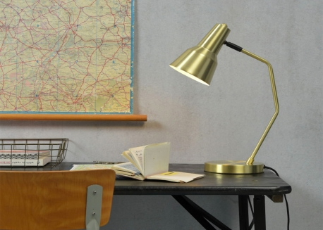 LAMPE DE TABLE OU DE BUREAU NOIR OU DORE VALENCIA - ITS ABOUT ROMY