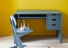 BUREAU DESIGN CONTEMPORAIN 3 TIROIRS 1 CASIER - 10 COLORIS AU CHOIX - L 65 PAR LAURETTE