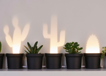 LAMPE A POSER ORIGINALE ET DECORATIVE 3 CACTUS PAR POPUP LIGHTING
