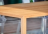 TABLE DE REPAS EN PLACAGE DE BOIS DE CHENE NATUREL 200x80 - CLOUD 2.0 PAR JANKURTZ
