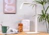 LAMPE DE BUREAU - LAMPE DE TABLE OU CHEVET - ORIENTABLE ECLAIRAGE LED - METAL NOIR OU BLANC - ZURICH PAR IT'S ABOUT ROMI