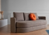 CANAPE CONVERTIBLE AU DESIGN ORIGINAL INCURVE PROPOSANT 1 OU 2 COUCHAGES VILLUM PAR INNOVATION LIVING