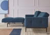 CANAPE LIT AVEC ACCOUDOIRS BLEU DESIGN SCANDINAVE AMPLE ARMS INNOVATION LIVING Innovation Living