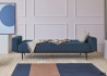 CANAPE LIT AVEC ACCOUDOIRS BLEU DESIGN SCANDINAVE AMPLE ARMS INNOVATION LIVING Danemark