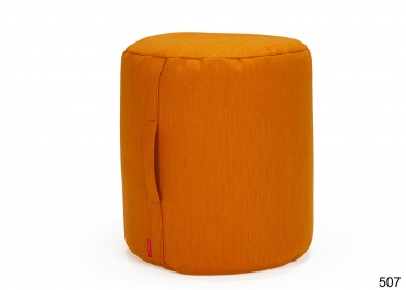 POUF DESIGN Ø45xH50 COULEUR AU CHOIX BUTT PAR INNOVATION LIVING