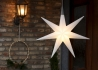 SUSPENSION LED EXTERIEUR INTERIEUR FORME ETOILE H 55 70 OU 91 CM - SHINING GLORY STAR PAR 8 SEASONS DESIGN