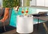TABLE D'APPOINT OUTDOOR 8 COULEURS - RONDE OU CARREE - HOME FITTING TAVOLINO PAR LYXO