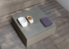 TABLE BASSE CARREE EXTERIEUR INTERIEUR TOUCH PAR TALENTI Talenti