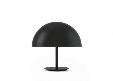 LAMPE DE TABLE FORME DOME NOIR - DOME PAR MATER
