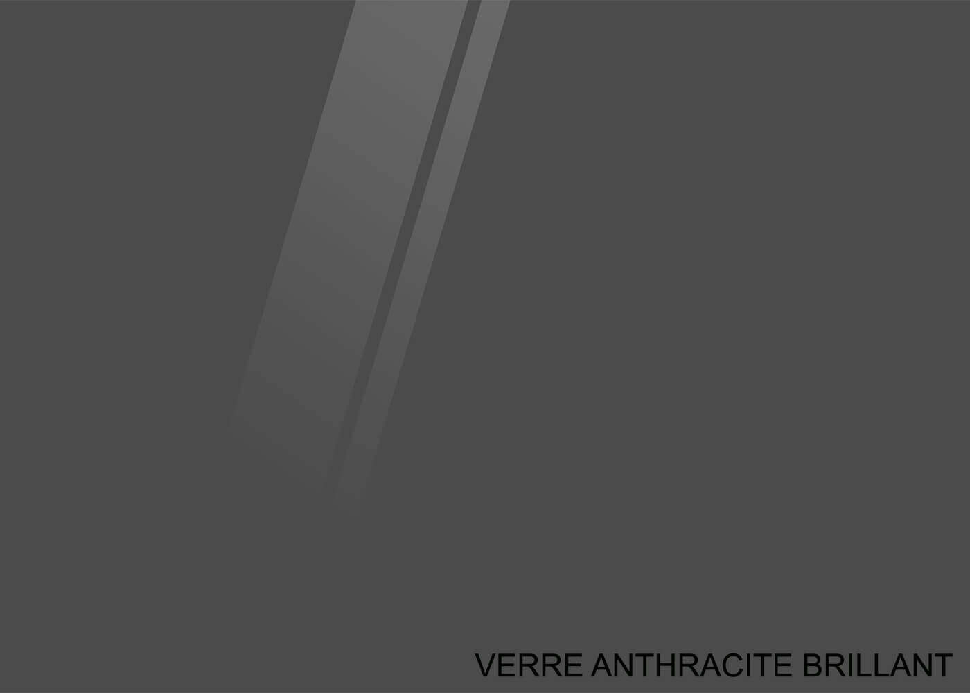 VERRE ANTHRACITE BRILLANT