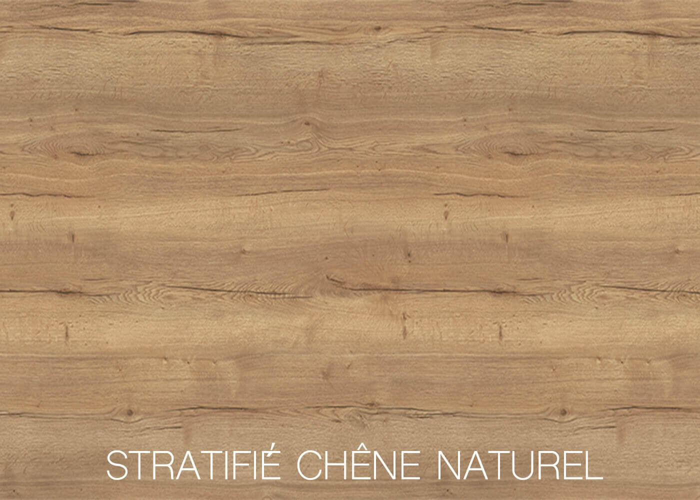STRATIFIE CHENE NATUREL
