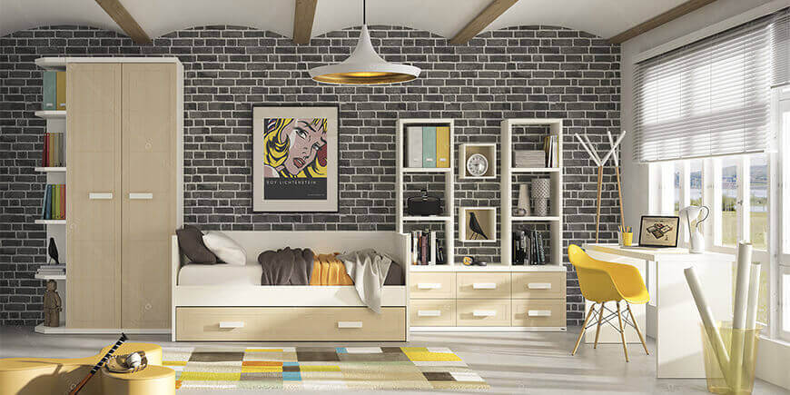 trucs et astuces pour am nager un studio ou chambre d 39 tudiants. Black Bedroom Furniture Sets. Home Design Ideas